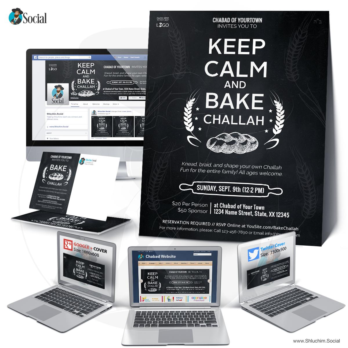 Keep Calm and bake Challah