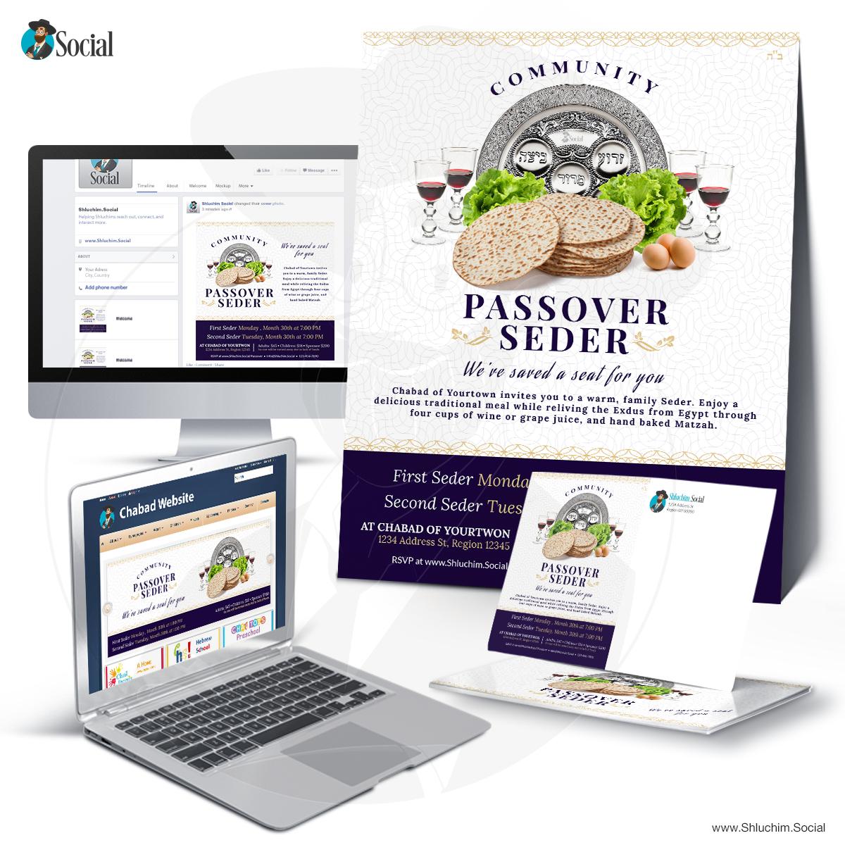 Decor Community Passover Seder