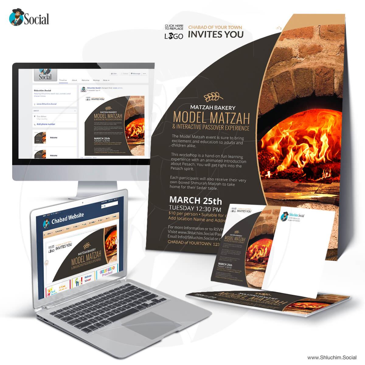 Matzah Bakery- Model and Interactive