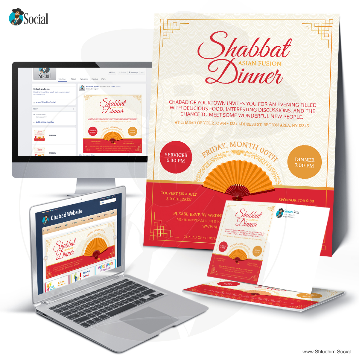Asian Fusion Shabbat Dinner