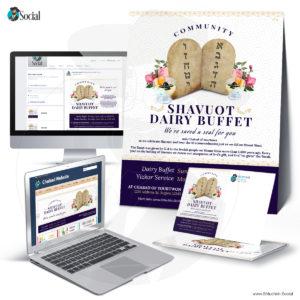 Decor Community Shavuot Dairy Buffet
