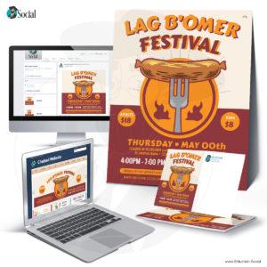 Multicolor Lag B'Omer Festival